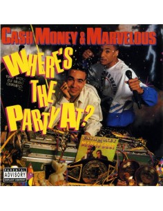 "VINILO LP CASH MONEY & MARVELOUS ""WHERE'S THE PARTY AT"""