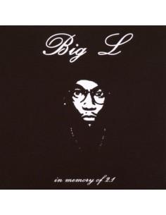 """CD BIG L """"IN MEMORY OF 2.1"""""""