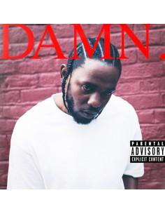 """CD KENDRICK LAMAR """"DAMN."""""""