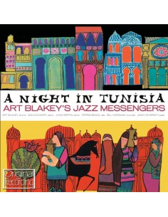"VINILO LP ART BLAKEY & JAZZ MESSENGERS ""A NIGHT IN TUNISIA"""