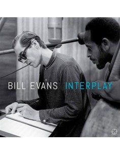 "VINILO LP BILL EVANS ""INTERPLAY"""