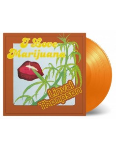 "VINILO LP LINVAL THOMPSON ""I LOVE MARIJUANA"""