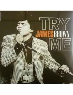 "VINILO JAMES BROWN ""TRY ME"""