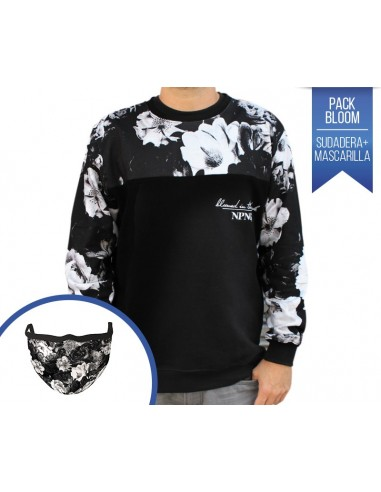 "PACK NPNG SUDADERA + MASCARILLA ""BLOOM"""
