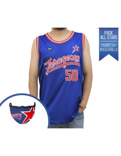 PACK RAPSOLO ZARAGOZA ALL STARS CAMISETA + MASCARILLA