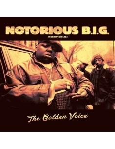 "VINILO 2LP NOTORIOUS B.I.G. ""THE GOLDEN VOICE INSTRUMENTALS"""