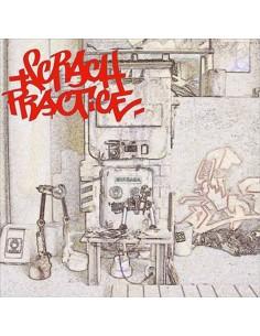 """VINILO LP DJ T-KUT """"SCRATCH PRACTICE EDICIÓN LIMITADA COLOR WHITE"""""""
