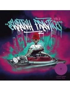 """VINILO LP DJ T-KUT """"SKRATCH PRACTICE VOL. 2 EDICIÓN LIMITADA COLOR NEON"""""""