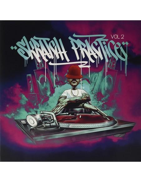 """VINILO LP DJ T-KUT """"SKRATCH PRACTICE VOL. 2 EDICIÓN LIMITADA VINILO AMARILLO"""""""