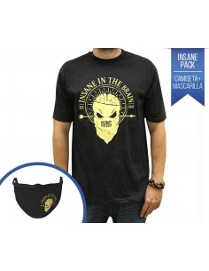 PACK NPNG CAMISETA + MASCARILLA INSANE IN THE BRAIN