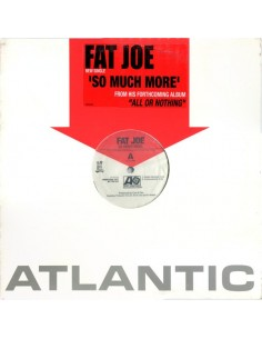 "VINILO MX FAT JOE ""SO MUCH MORE"""