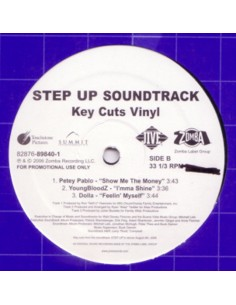 "VINILO EP STEP UP SOUNDTRACK ""KEY CUTS VINYL"""