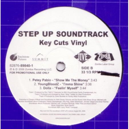 """VINILO EP STEP UP SOUNDTRACK """"KEY CUTS VINYL"""""""