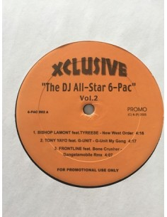 "VINILO MX VA ""DJ ALL STAR 6 PAC VOL.2"""