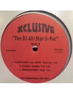 "VINILO MX VA ""DJ ALL STAR 6 PAC VOL.2"""