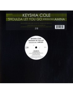 "VINILO MX KEYSHIA COLE FT. AMINA ""SHOULDA LET YOU GO"""