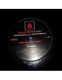 "VINILO MX DJ MASTERCASH FT. BUCKSHOT & SMIF N WESSUN ""BEEN AROUND THE WORLD"""