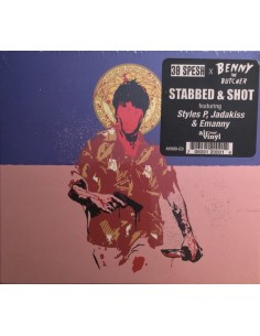 "VINILO LP 38 SPESH & BENNY THE BUTCHER ""STABBED & SHOT"""