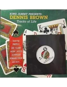 """VINILO LP + 7"""" DENNIS BROWN """"TRACKS OF LIFE"""""""
