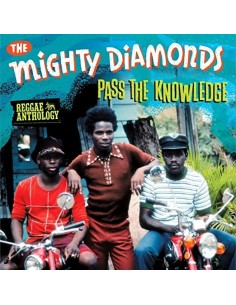 "VINILO LP THE MIGHTY DIAMONDS ""PASS THE KNOWLEDGE"""