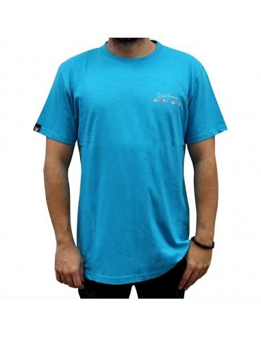"""Camiseta JAVATO JONES """"HÁGALE PUES"""" AZUL"""
