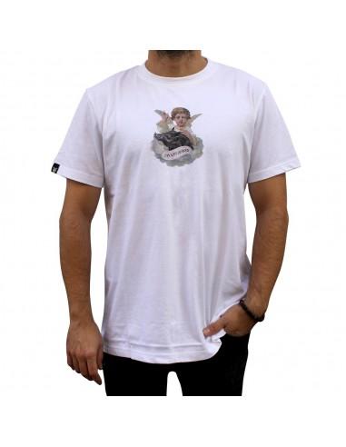 """Camiseta JAVATO JONES """"ÁNGELES"""" BLANCA"""