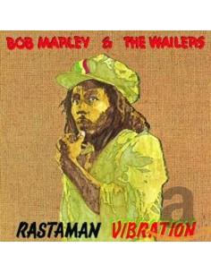 "VINILO LP BOB MARLEY ""RASTAMAN VIBRATION"""