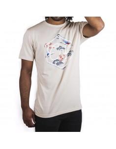 Camiseta CNF SAKURA BEIGE