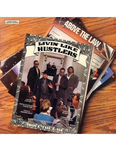 "CD ABOVE THE LAW ""LIVIN' LIKE HUSTLERS"""