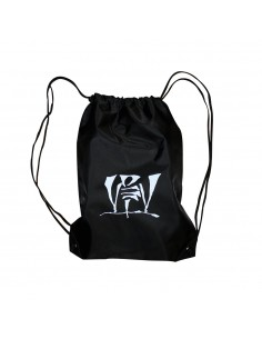Mochila VIOLADORES DEL VERSO de polyester, color negro