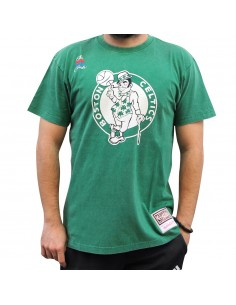Camiseta MITCHELL & NESS NBA BOSTON CELTICS WORN LOGO