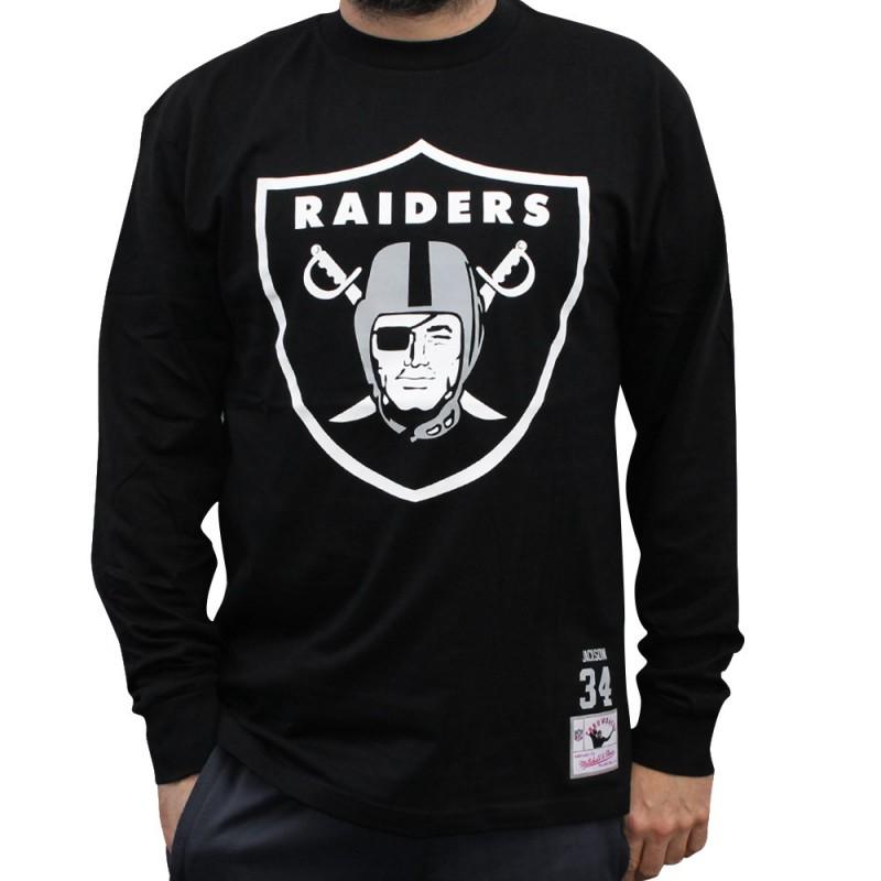 Camiseta manga larga MITCHELL&NESS NFL OAKLAND RAIDERS OAKLAND RAIDERS OAKLAND RAIDERS