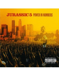 """CD JURASSIC 5 """"POWER IN NUMBERS"""""""