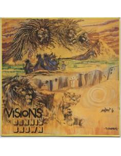 """VINILO LP DENNIS BROWN """"VISIONS OF DENNIS BROWN"""""""