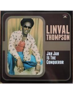 """VINILO LP LINVAL THOMPSON """"JAH JAH IS THE CONQUEROR"""""""
