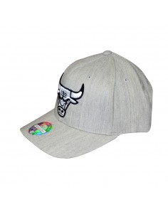 Gorra MITCHELL & NESS CHICAGO BULLS GRIS