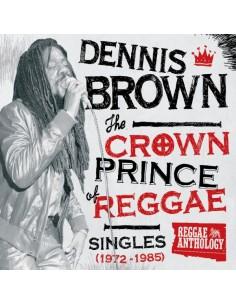 "VINILO LP DENNIS BROWN ""THE CROWN PRINCE OF REGGAE"""