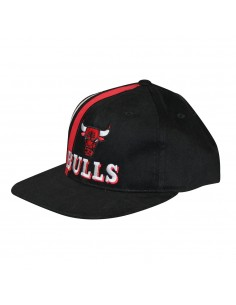 Gorra MITCHELL & NESS CHICAGO BULLS TEAM STRIPE