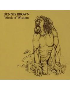 "VINILO LP DENNIS BROWN ""WORDS OF WISDOM"""