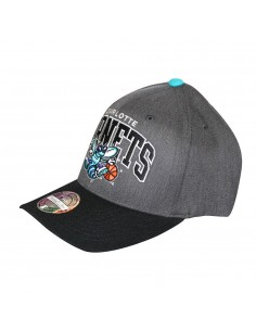 Gorra MITCHELL & NESS CHARLOTTE HORNETS CHARCOAL