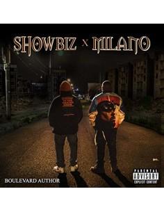 """VINILO LP SHOWBIZ X MILANO  """"BOULEVARD AUTHOR"""""""