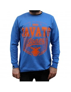 Sudadera JAVATO JONES BASIC AZUL