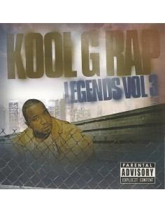 """CD KOOL G RAP """"LEGENDS VOL.3"""""""