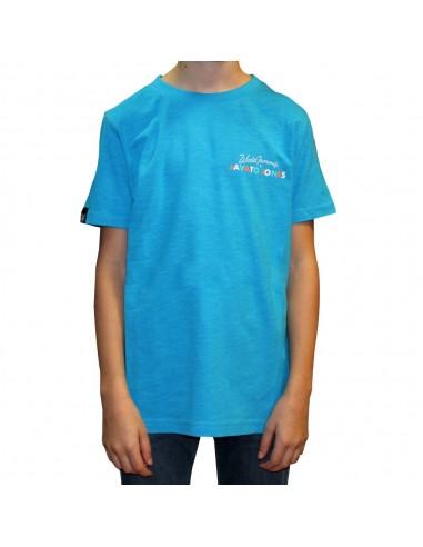 """Camiseta niño JAVATO JONES """"HAGALE PUES"""" AZUL"""