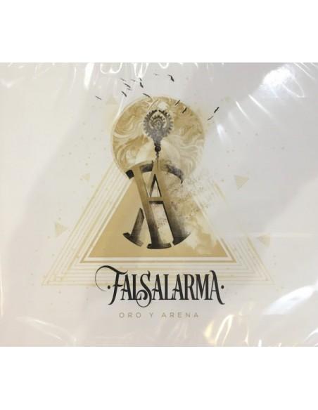 """VINILO LP FALSALARMA """"ORO Y ARENA"""""""