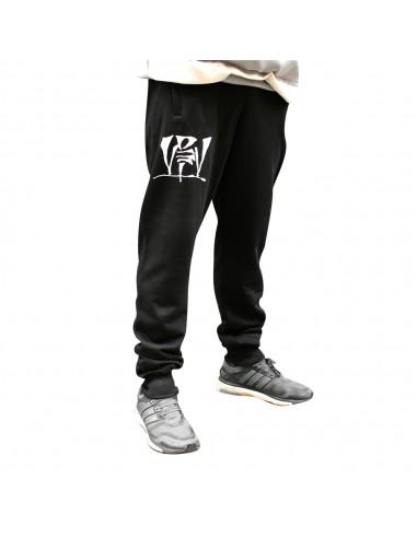 Pantalón Deporte VIOLADORES DEL VERSO unisex en algodón, color negro