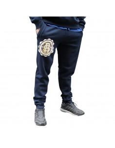 Pantalón Deporte RAPSOLO unisex en algodón, color azul marino