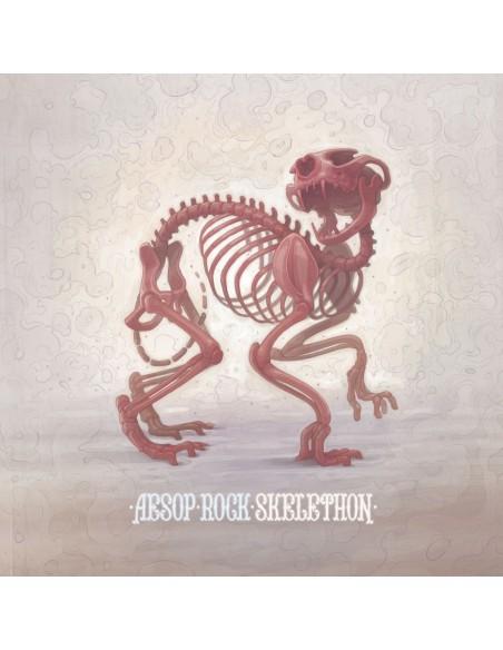 """VINILO coloreado LP AESOP ROCK """"SKELETHON"""""""
