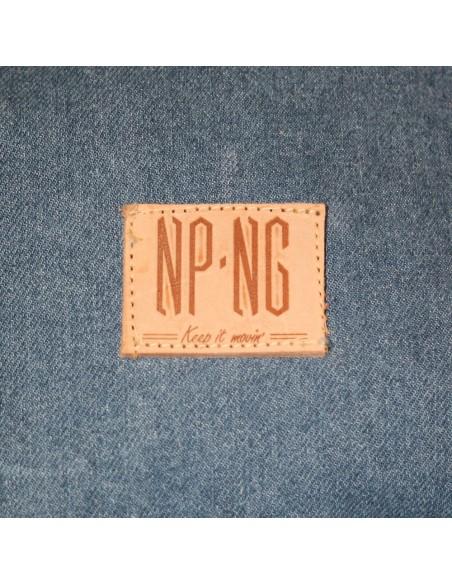 Mochila NPNG DENIM en algodón color azul