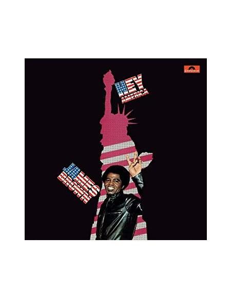 "VINILO LP JAMES BROWN ""HEY AMERICA"""